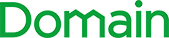 the word Domain in green