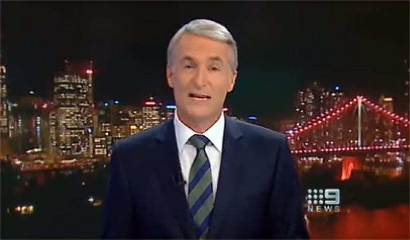 a 9News male anchor