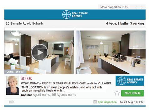 a screenshot of a property listing